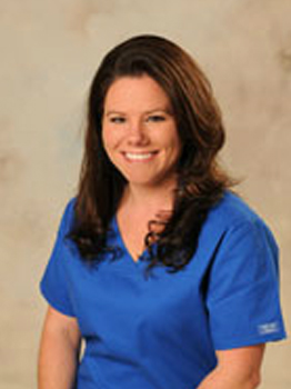 Katie a dental assistant at Hutchinson Family Dentistry.